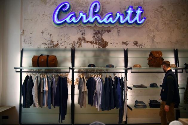 Carhartt WIP inaugura loja em Paris com cápsula exclusiva com a Sophnet