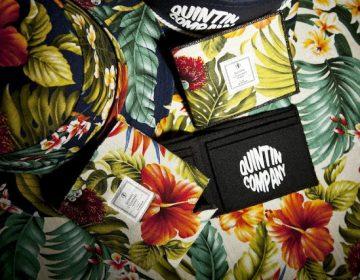 Estampa floral é tema de pack da Quintin Co.