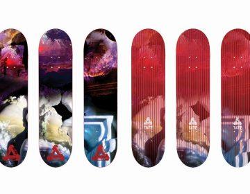 Palace Skateboards cria shapes inspirados nas obras de John Martin