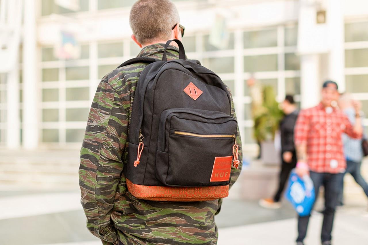 JanSport e HUF apresentam mochila em colab