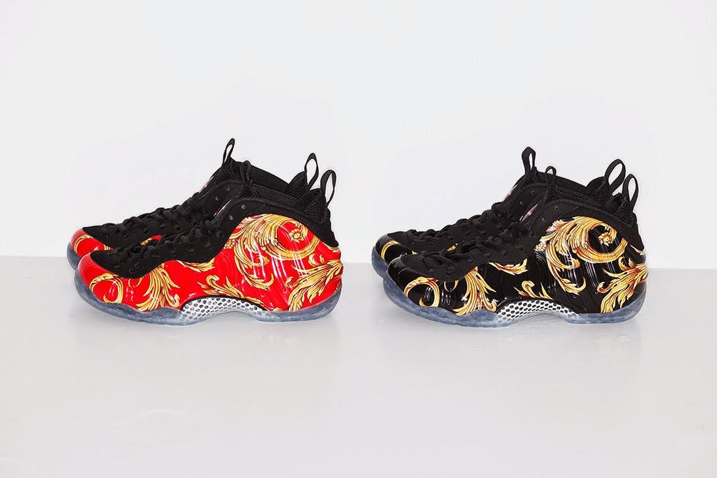 Supreme e Nike trazem versão exclusiva do Air Foamposite em parceria