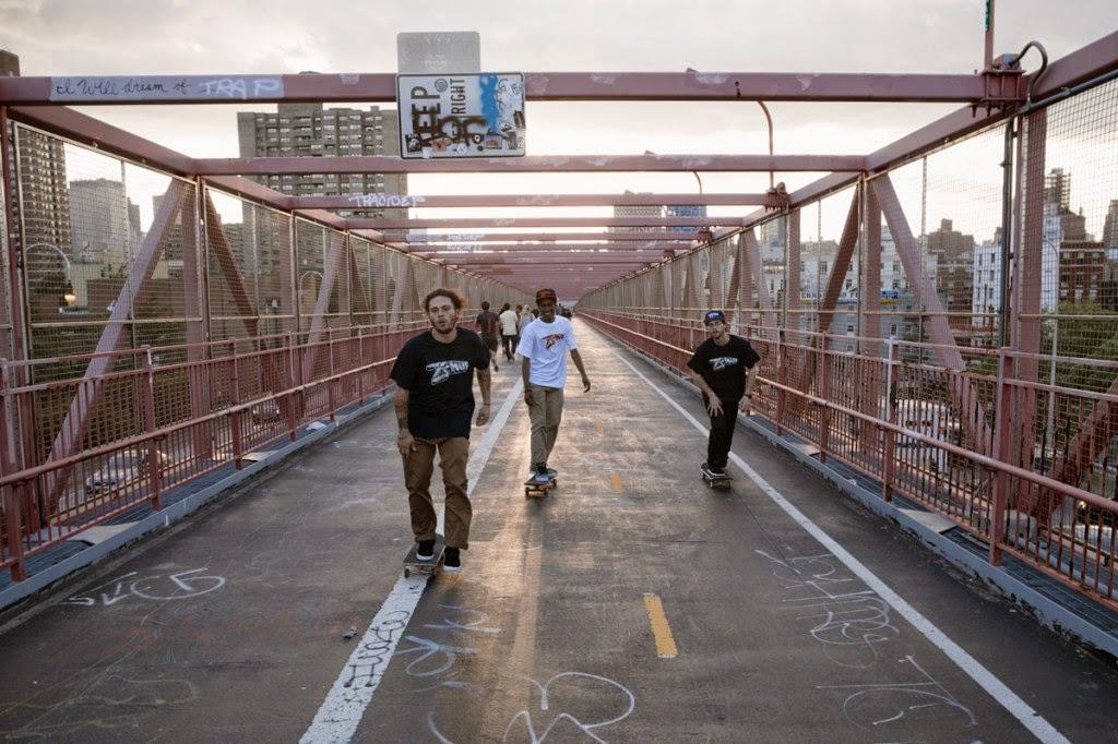 HUF e UXA unem o skate de São Francisco e Nova Iorque