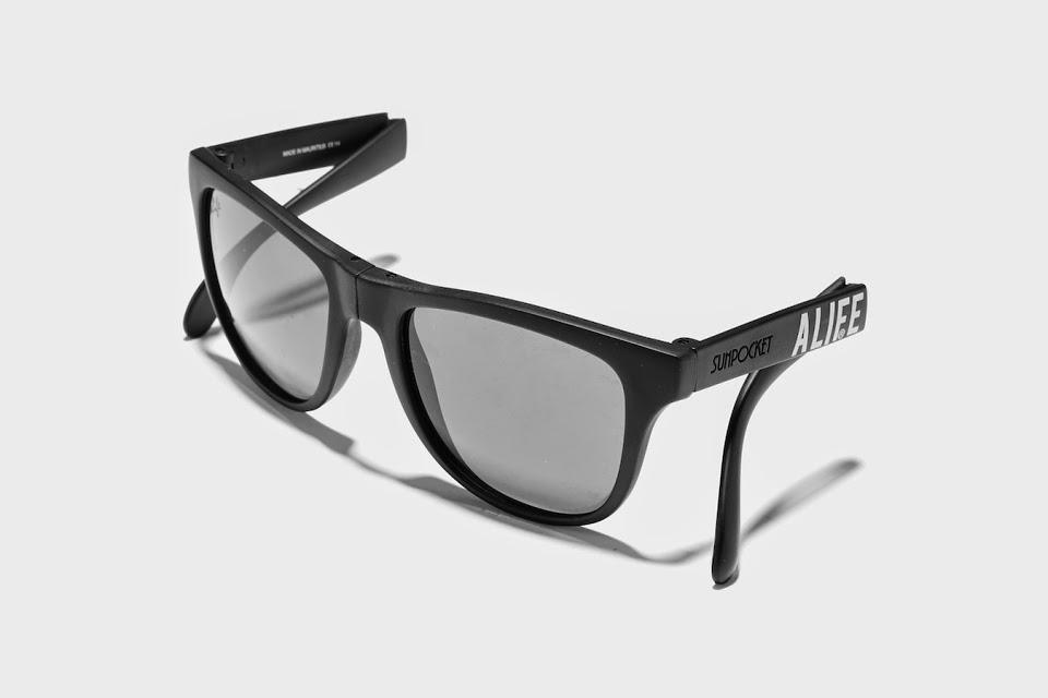 Alife colabora com a Sunpocket em óculos de sol dobráveis