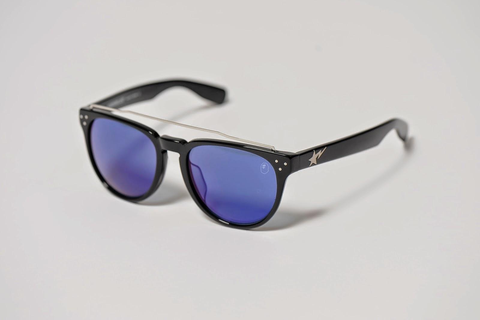 BAPE e East Touch criam óculos de sol exclusivo
