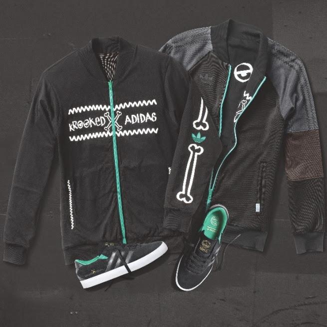 men streetwear brasil adidas skateboarding krooked 2014 01 - adidas Skateboarding une forças com a marca de Mark Gonzales