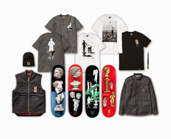 streetwear brasil polar skate carhartt wip colecao capsula 2014 01 - Polar Skate x Carhartt WIP (Coleção cápsula)