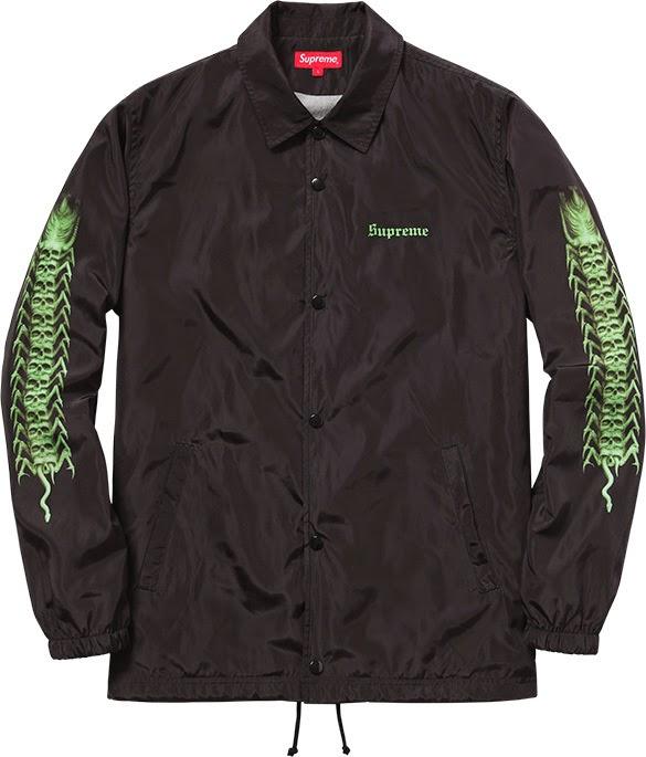 streetwear brasil supreme h r giger 2014 02 - Supreme colabora com H.R. Giger, o mestre por trás de Alien