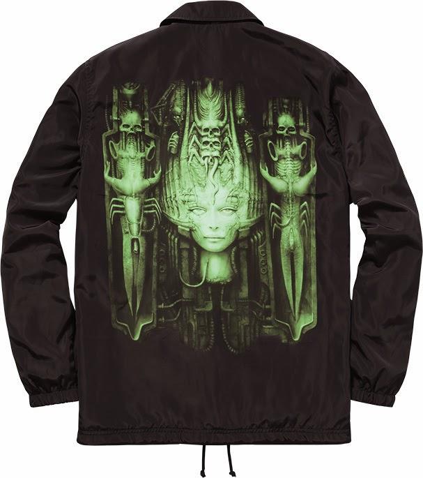 streetwear brasil supreme h r giger 2014 03 - Supreme colabora com H.R. Giger, o mestre por trás de Alien