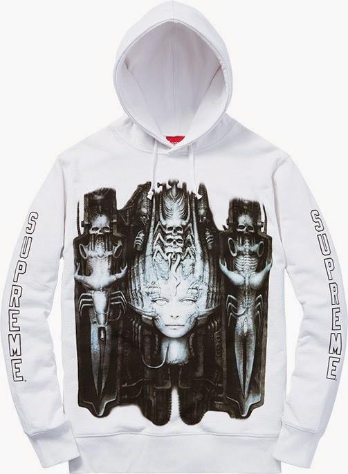 streetwear brasil supreme h r giger 2014 04 - Supreme colabora com H.R. Giger, o mestre por trás de Alien