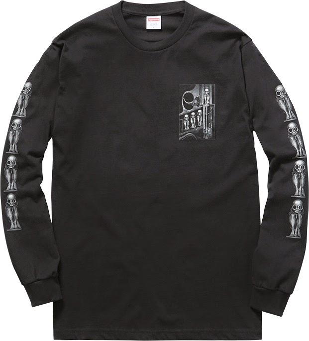 streetwear brasil supreme h r giger 2014 05 - Supreme colabora com H.R. Giger, o mestre por trás de Alien