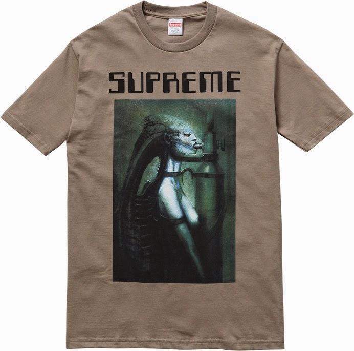 streetwear brasil supreme h r giger 2014 07 - Supreme colabora com H.R. Giger, o mestre por trás de Alien