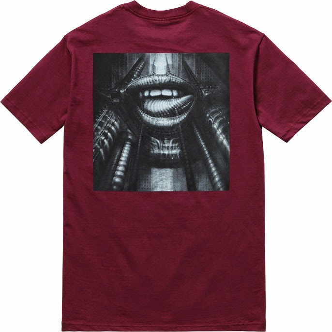 streetwear brasil supreme h r giger 2014 09 - Supreme colabora com H.R. Giger, o mestre por trás de Alien