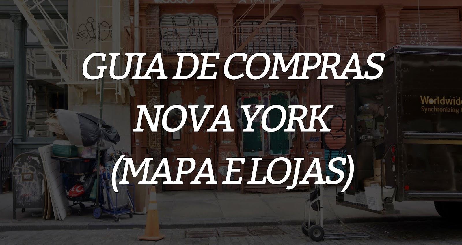 compras ny 3 - Guia de compras: Nova Iorque (Mapa e lojas)