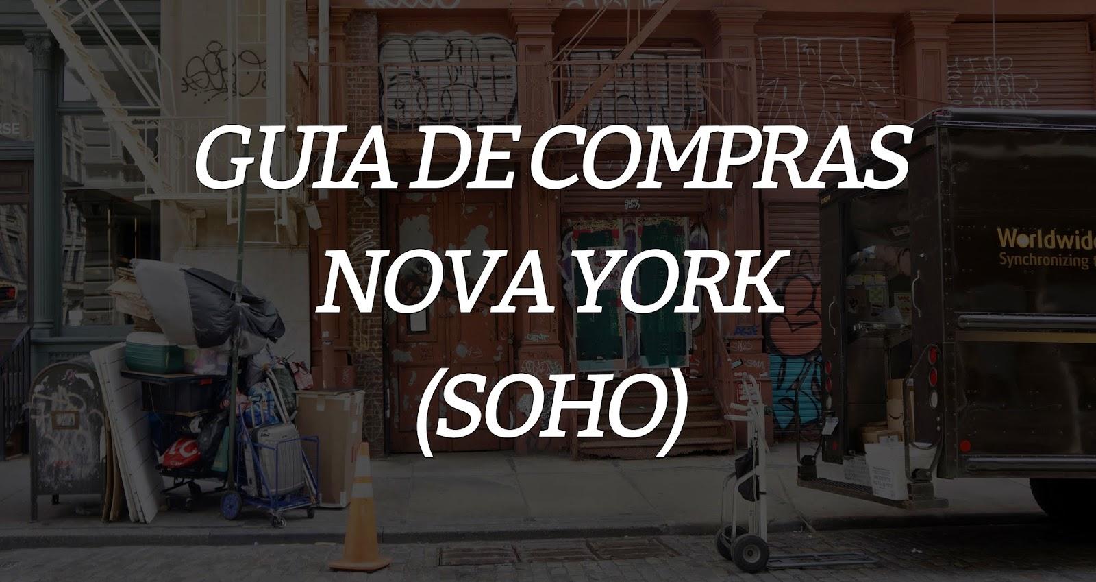 Guia de compras: Nova Iorque (Parte 2)
