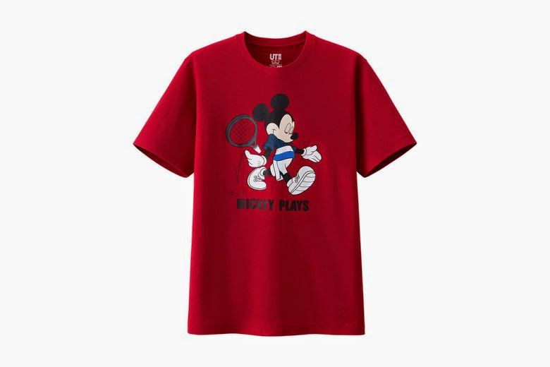 "streetwear brasil disney uniqlo colecao mickey plays 03 - Disney x Uniqlo - ""Mickey Plays"""
