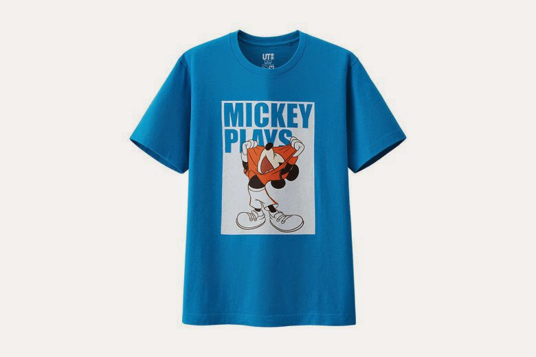 "streetwear brasil disney uniqlo colecao mickey plays 06 - Disney x Uniqlo - ""Mickey Plays"""