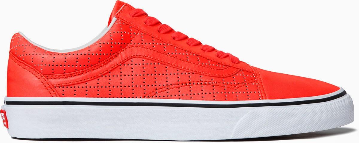 "streetwear brasil supreme vans perforated leather 02 - Supreme x Vans Old Skool ""Perforated Leather"""