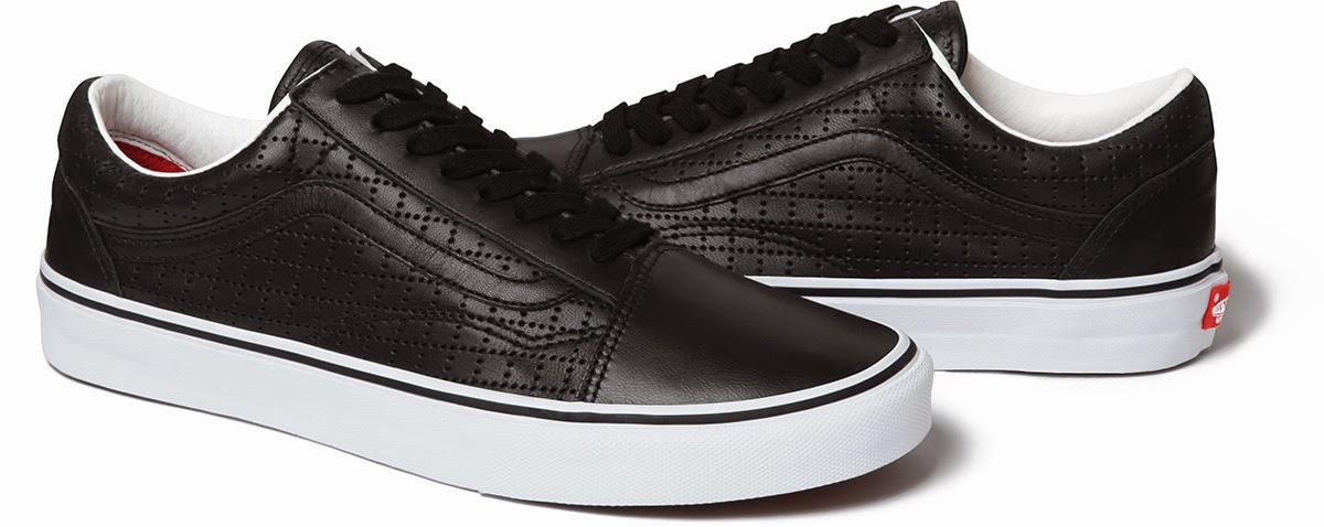 "streetwear brasil supreme vans perforated leather 05 - Supreme x Vans Old Skool ""Perforated Leather"""