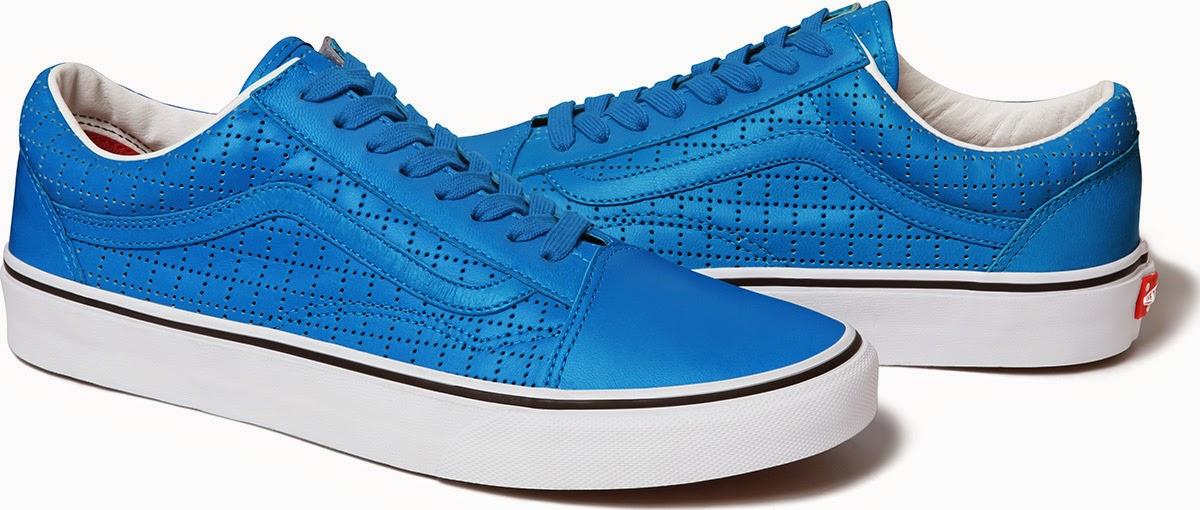"streetwear brasil supreme vans perforated leather 07 - Supreme x Vans Old Skool ""Perforated Leather"""
