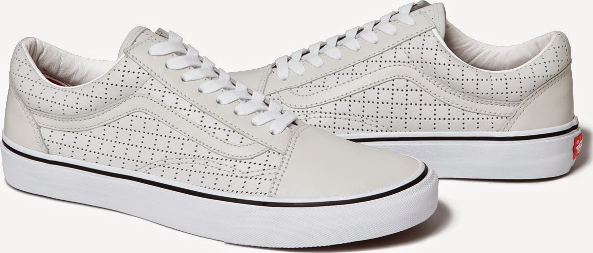 "streetwear brasil supreme vans perforated leather 09 - Supreme x Vans Old Skool ""Perforated Leather"""