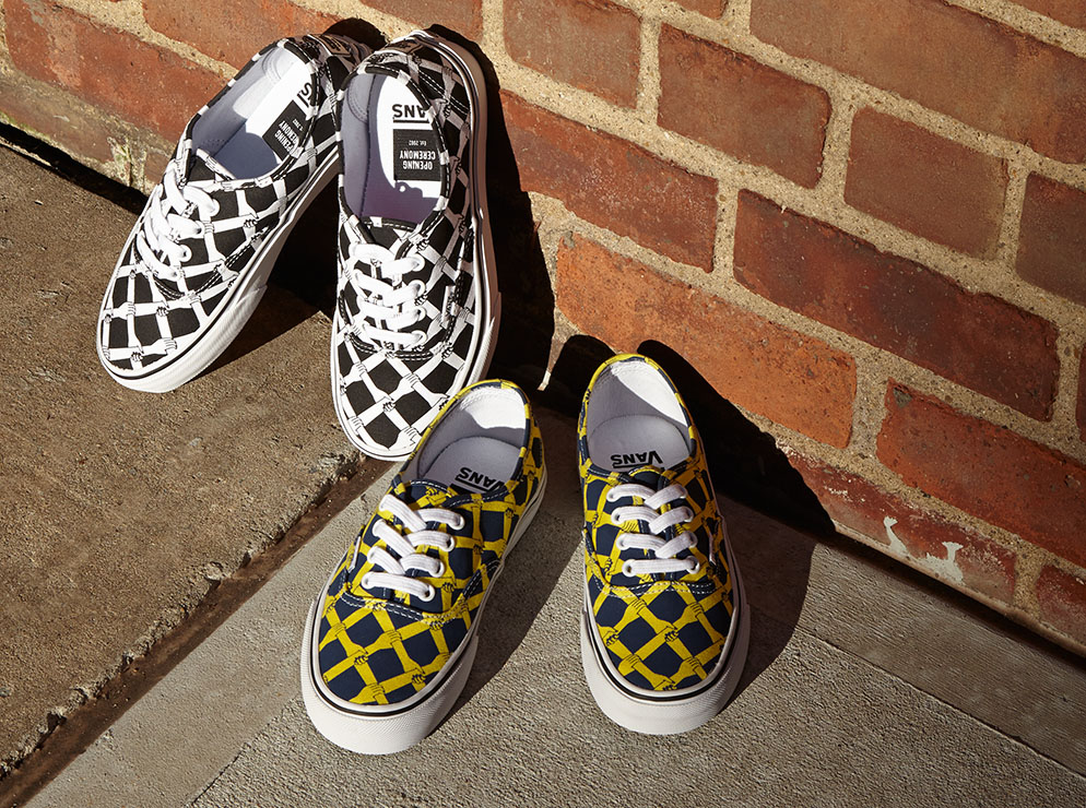 """Opening Ceremony x Vans """"Hands Laced"""" Authentic"""