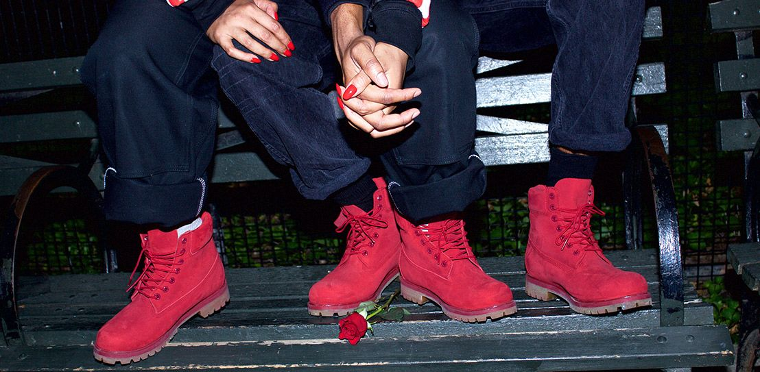 """Timberland Bota 6-Inch """"Red Mono"""""""