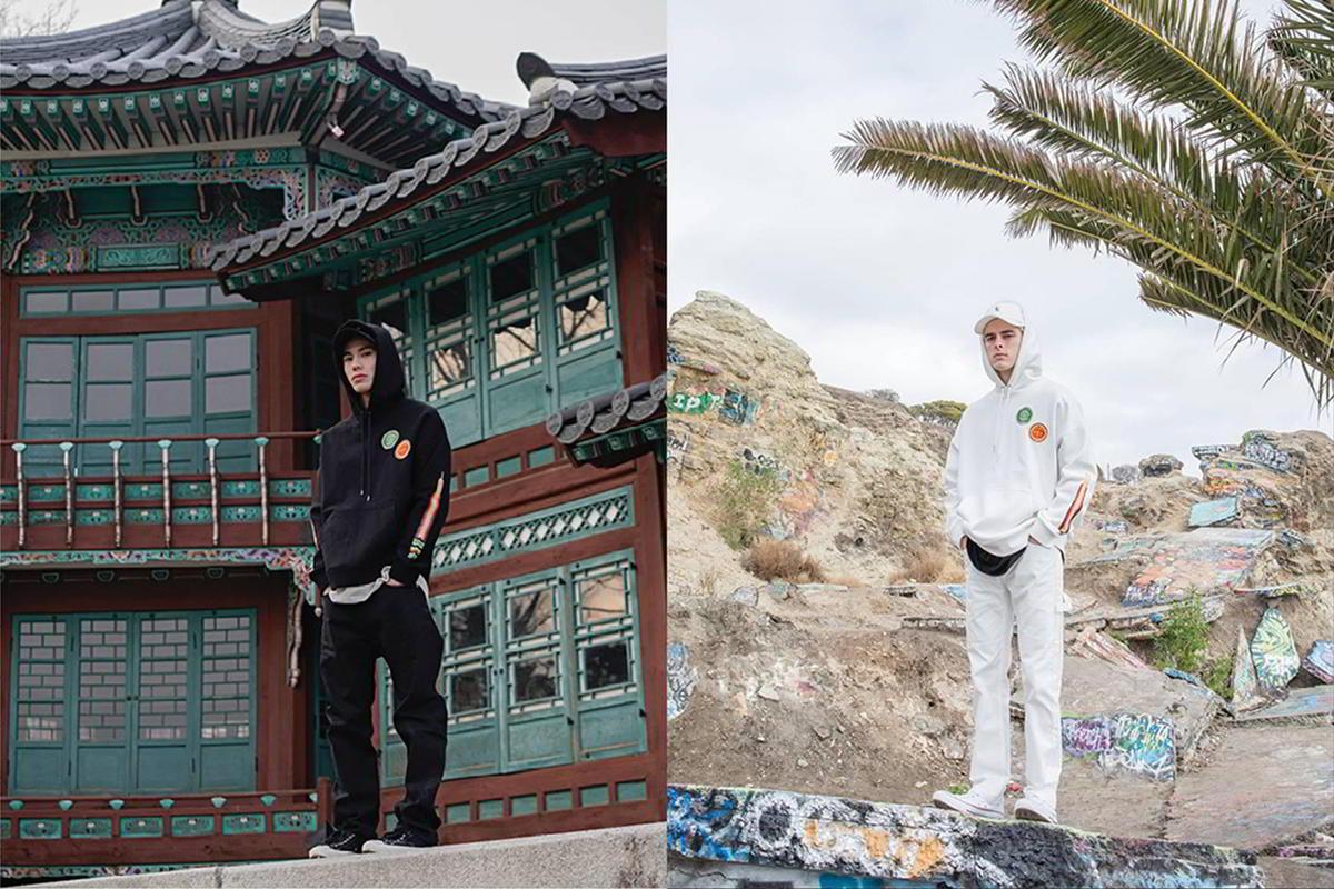 Pintura coreana é tema da parceria entre LIFUL e The Hundreds