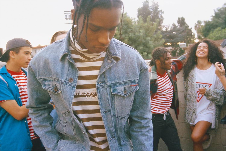 A$AP Rocky e GUESS lançam coleção unissex