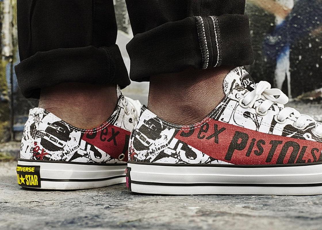 Sex Pistols inspira coleção da Converse