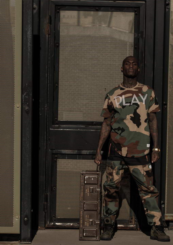 Play Cloths revela coleção inspirada no milistarismo