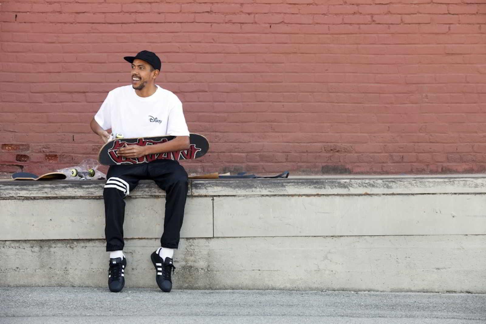 Rodrigo Teixeira estrela parceria da DGK com adidas Skateboarding