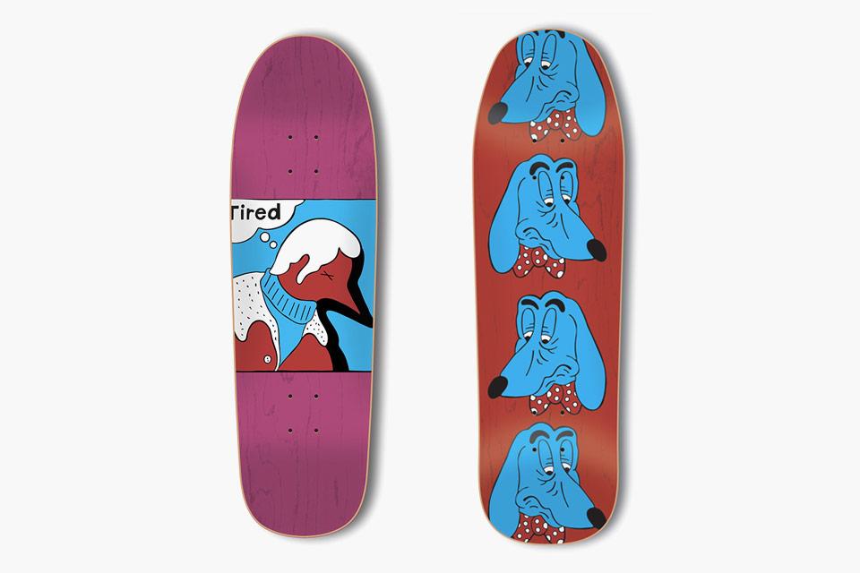 Tired: a marca de skate de Piet Parra