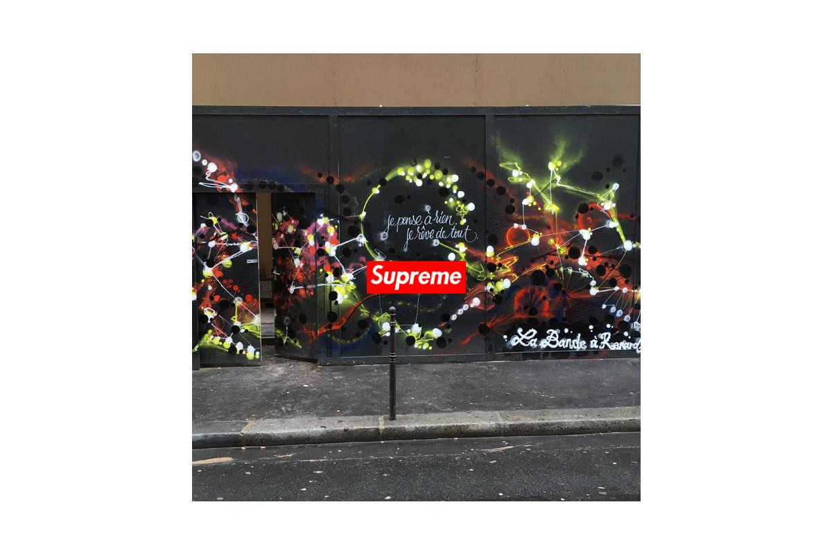 supreme paris store 01 - Black Scale apresenta coleção madura e detalhista