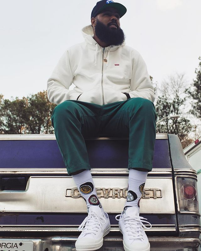 streetwear brasil stance socks stalley collab 01 - Stance e rapper Stalley lançam meias limitadas