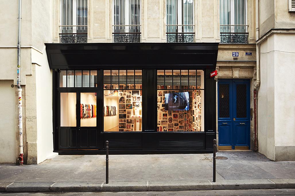 Conheça a nova loja da Supreme em Paris