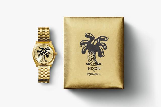 Nixon lança relógios com artista californiano