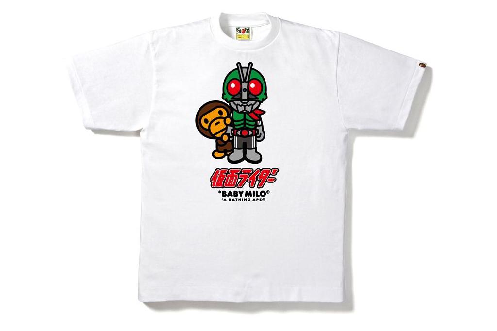 bape kamen rider streetwear brasil 03 - BAPE celebra aniversário do herói japonês Kamen Rider