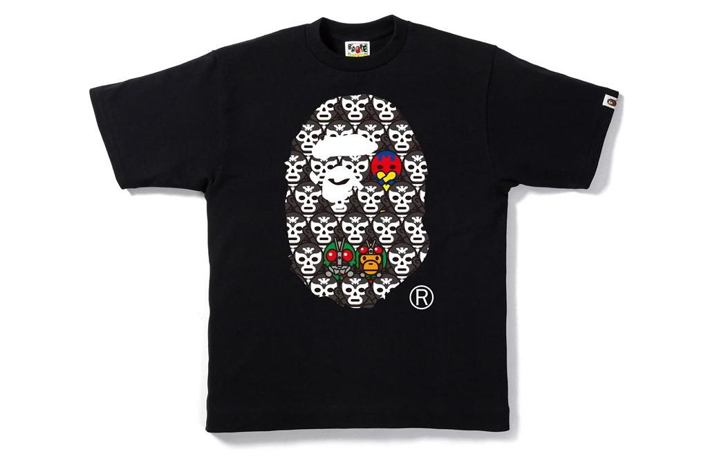 bape kamen rider streetwear brasil 04 - BAPE celebra aniversário do herói japonês Kamen Rider