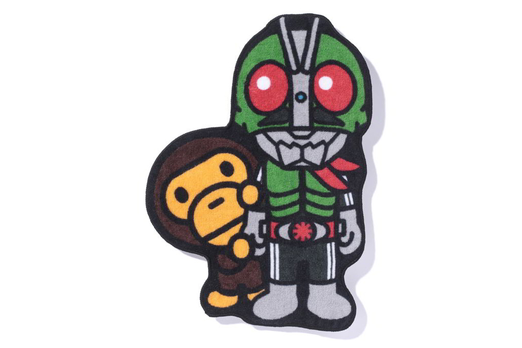 bape kamen rider streetwear brasil 11 - BAPE celebra aniversário do herói japonês Kamen Rider