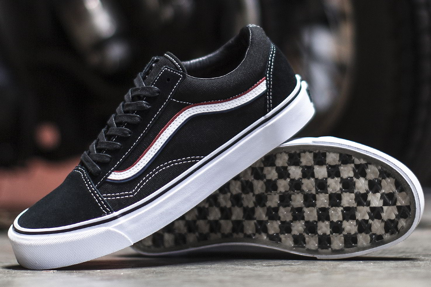 blends vans vault born free 8 collab 02 - Blends e Vans Vault lançam Old Skool inspirado por motoqueiros