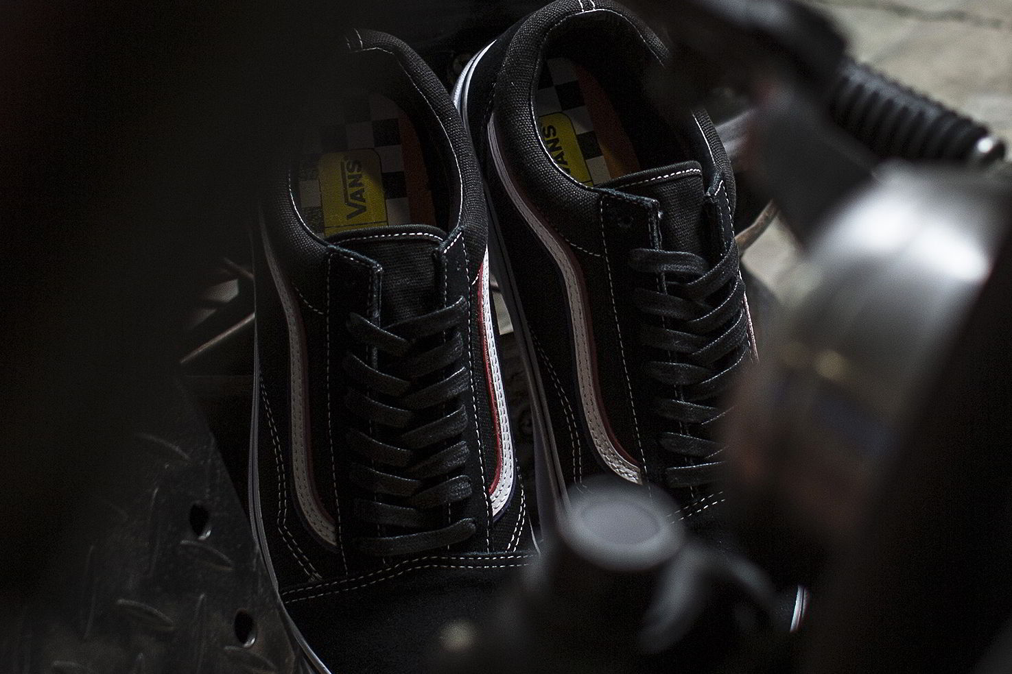 blends vans vault born free 8 collab 04 - Blends e Vans Vault lançam Old Skool inspirado por motoqueiros