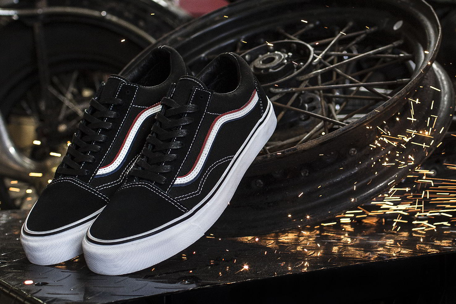 blends vans vault born free 8 collab 06 - Blends e Vans Vault lançam Old Skool inspirado por motoqueiros