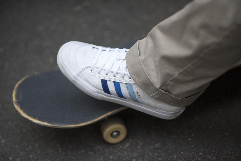 adidas skateboarding na kel smith matchcourt mid 02 - The Quiet Life x Erin Garcia (Coleção cápsula)