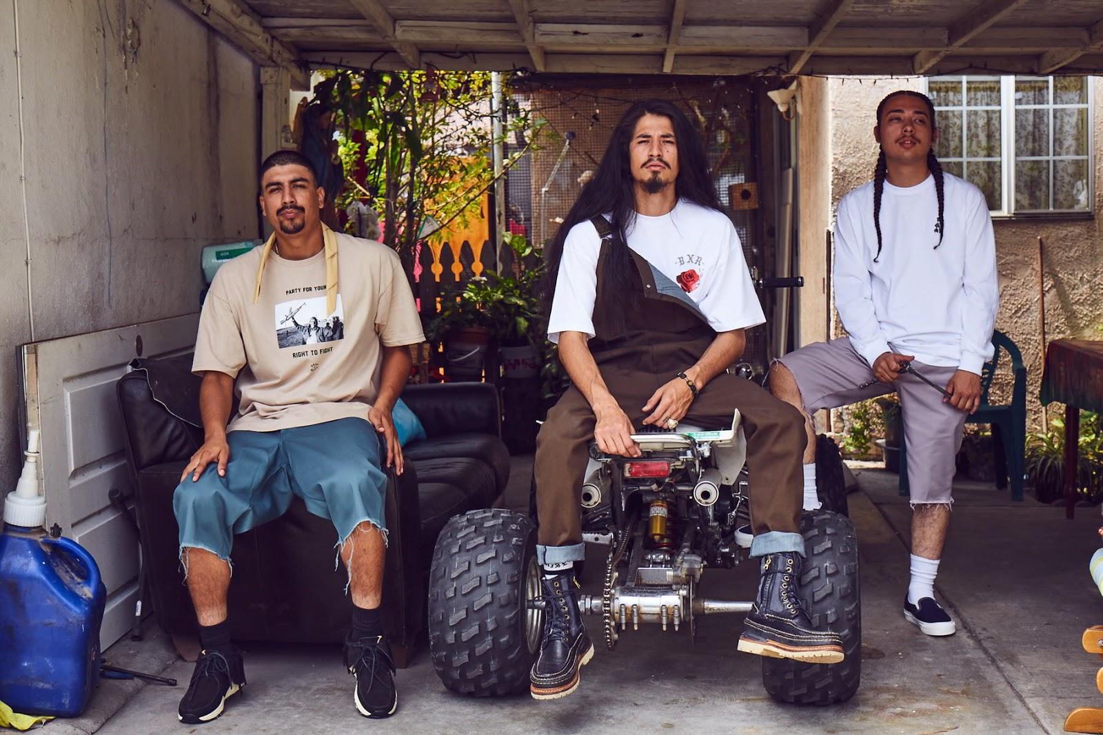 born x raised verao 2016 03 - Obey colabora com os pais do hardcore/punk