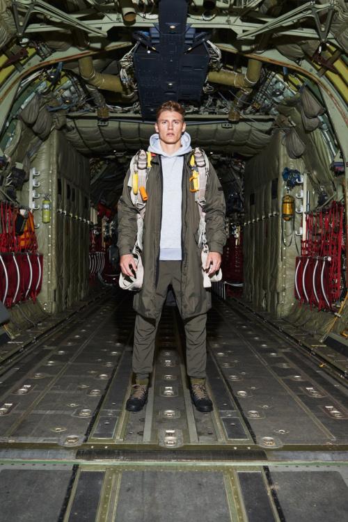 HALO: Sportwear inspirado nos paraquedistas