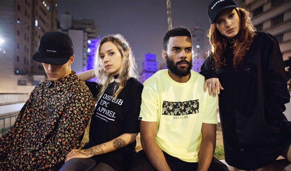 Conheça a marca brasileira Disturb