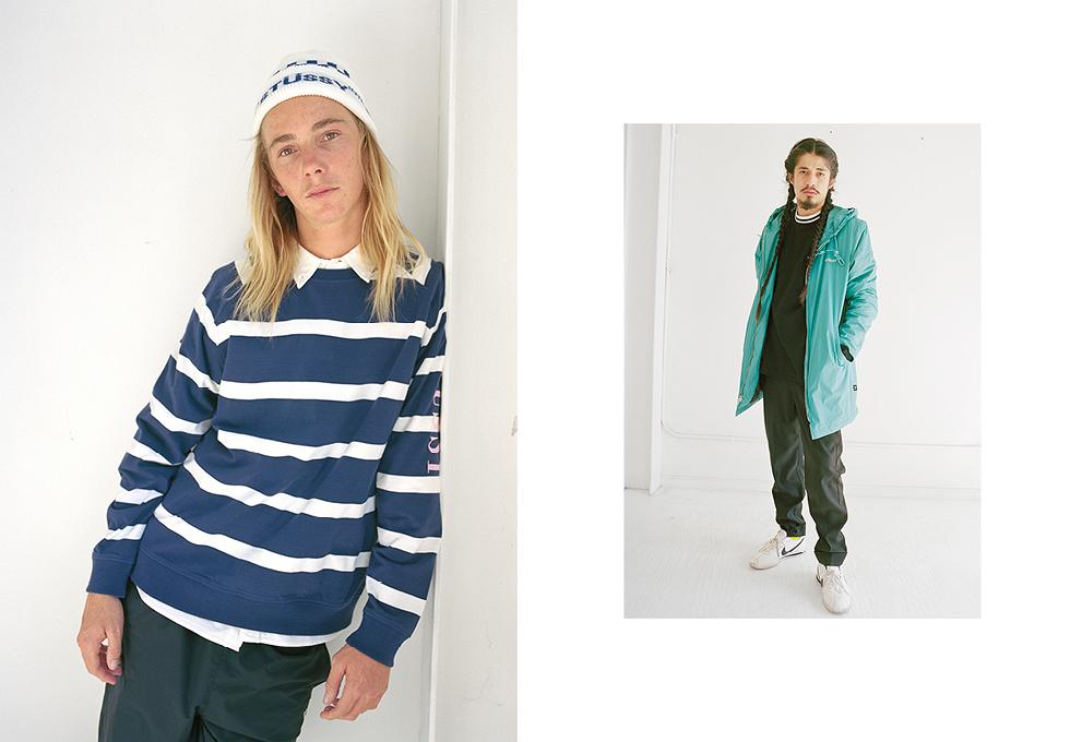 Stussy une conforto e minimalismo em nova coleção