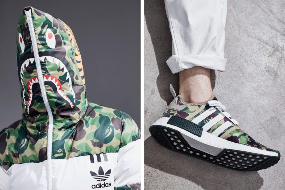 Adidas Originals e BAPE repetem parceria de sucesso