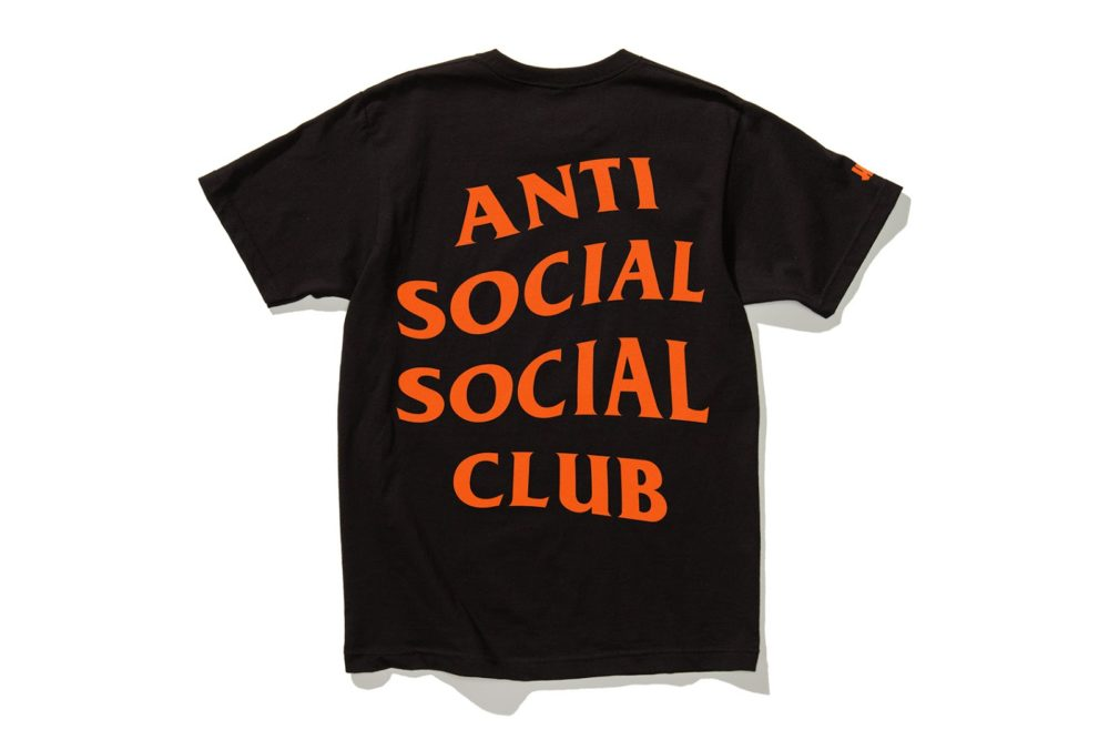 "anti social social club undefeated collection 9 - Anti Social Social Club x Undefeated ""Paranoid"" (Cápsula)"