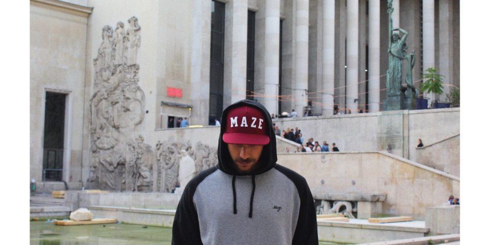 Maze lança primeira coleção de vestuário